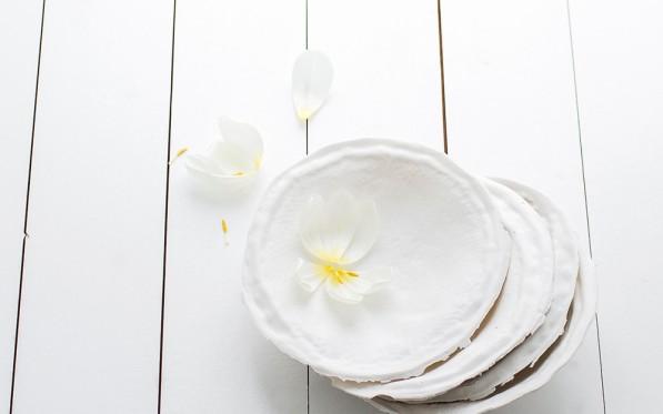 Veckans stilleben | En vit tulpanhyllnin...