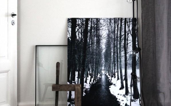 Vinterkänsla till väggen...