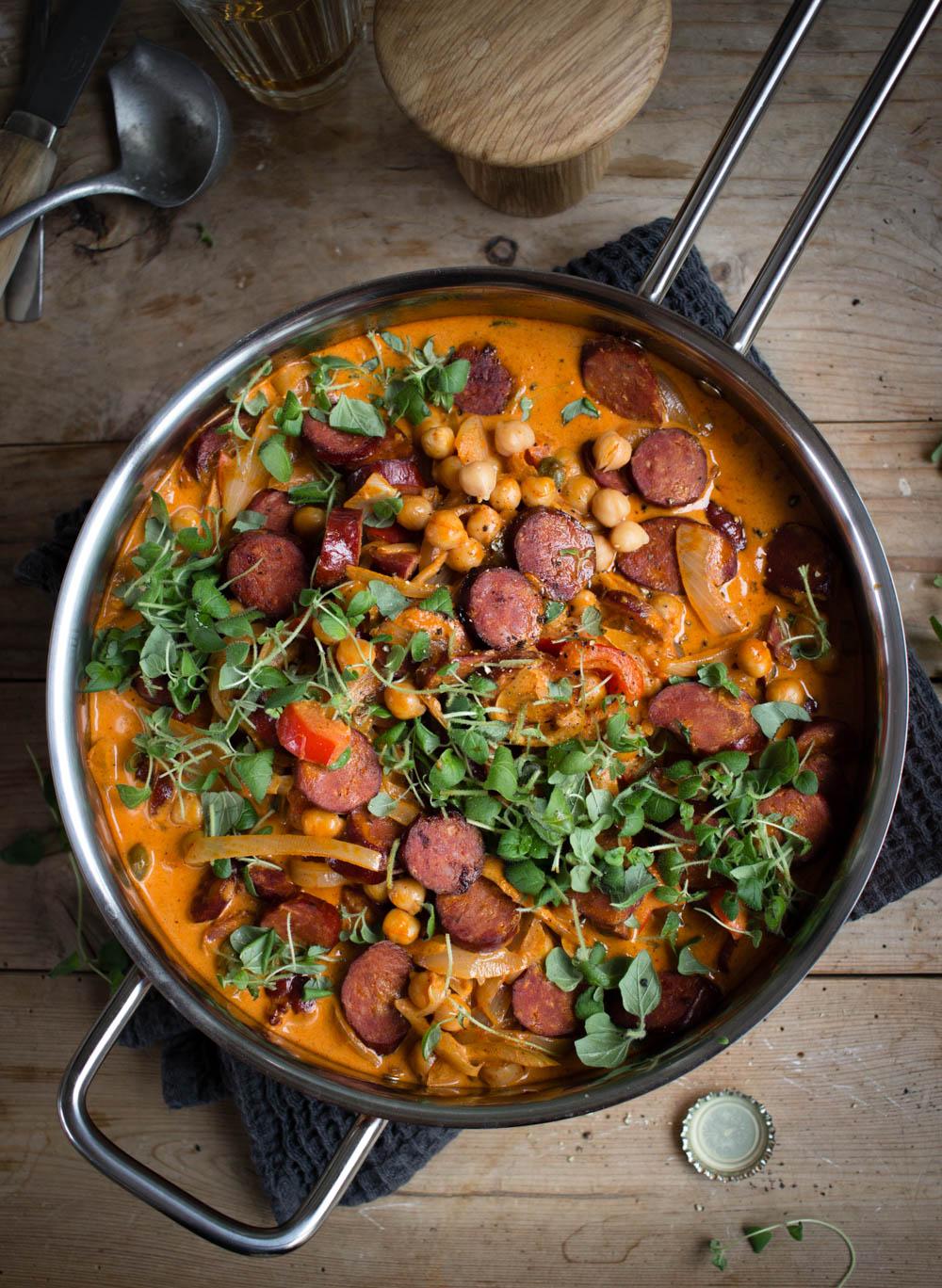 Chorizo korv recept