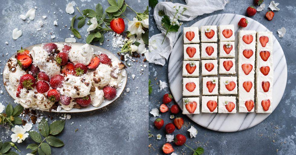 5 recept med jordgubbar!