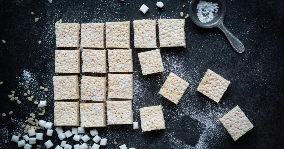 Marshmallow rice krispies – enkelt julgodis