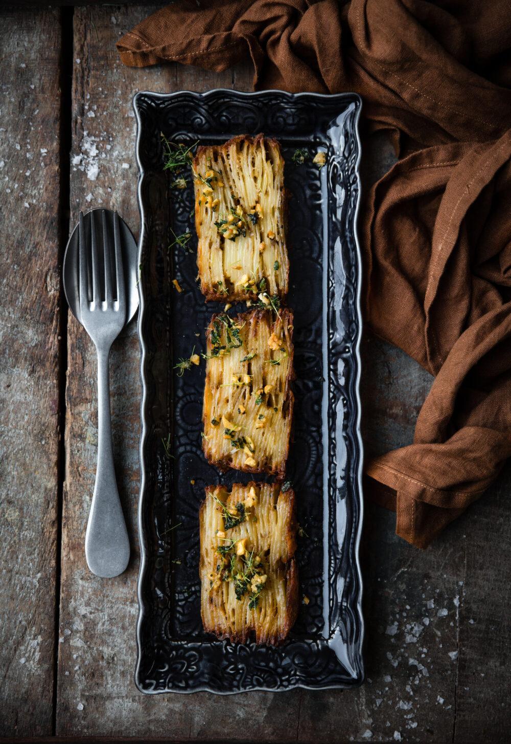 Potatisterrin – recept på kripsig potatiskaka