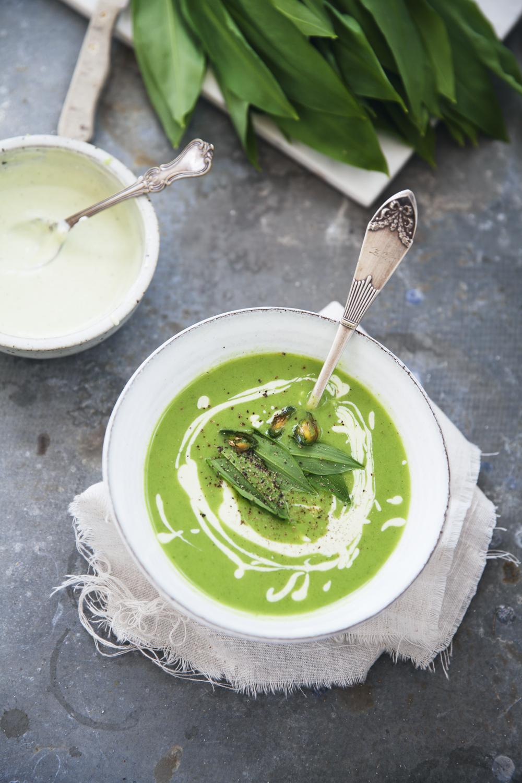 soppa på ramslök